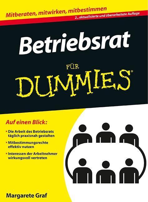 Betriebsrat für Dummies als Buch von Margarete Graf