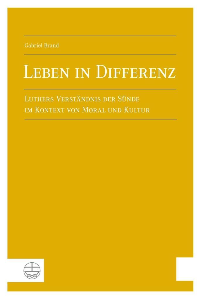 Leben in Differenz als Buch von Gabriel Brand