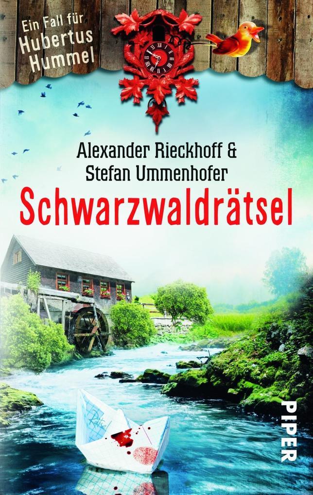 Schwarzwaldrätsel als Taschenbuch von Alexander Rieckhoff, Stefan Ummenhofer