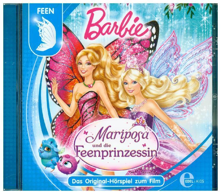Barbie - Mariposa und die Feenprinzessin als Hörbuch CD von