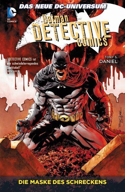 Batman - Detective Comics 02: Die Maske des Schreckens als Taschenbuch von Tony S. Daniel, Ed Benes, Gregg Hurwitz