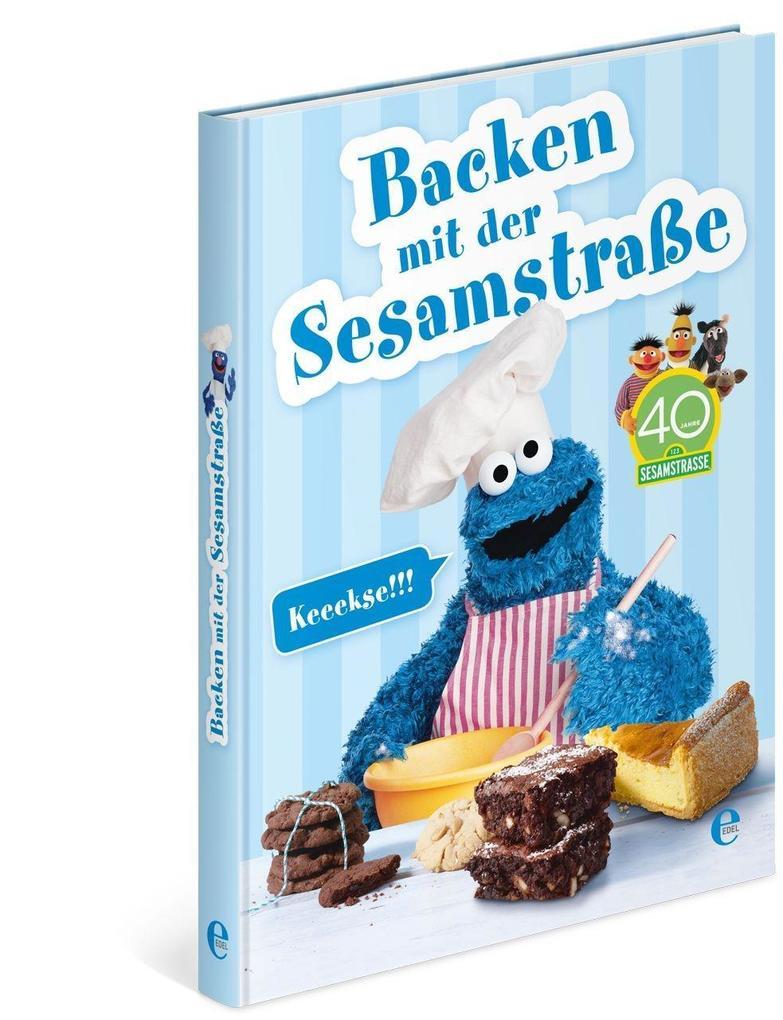 Backen mit der Sesamstraße als Buch von
