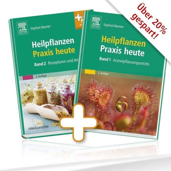 Heilpflanzenpraxis heute 1 + 2 als Buch von Siegfried Bäumler