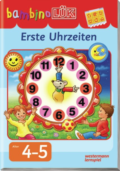 bambinoLÜK. Erste Uhrzeiten als Buch von Heiner Müller