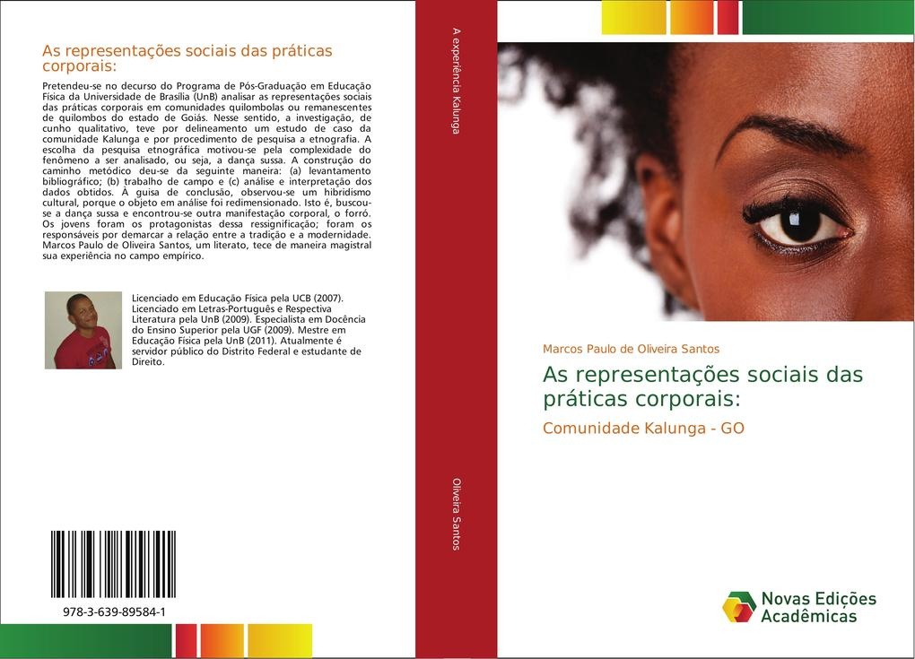 As representações sociais das práticas corporais: als Buch von Marcos Paulo de Oliveira Santos