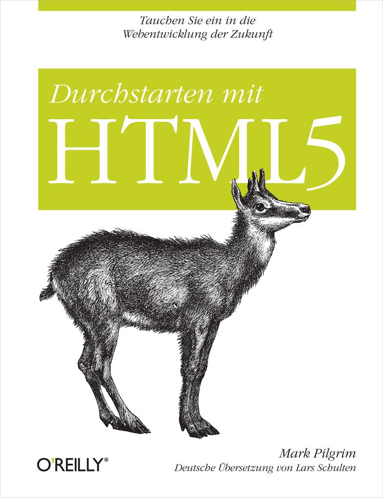 Durchstarten mit HTML5 als eBook von Mark Pilgrim