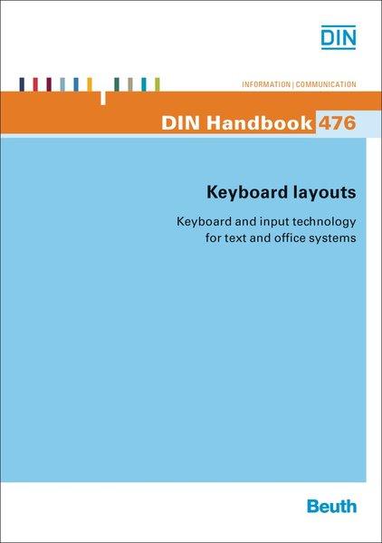 Keyboard layouts als Taschenbuch von