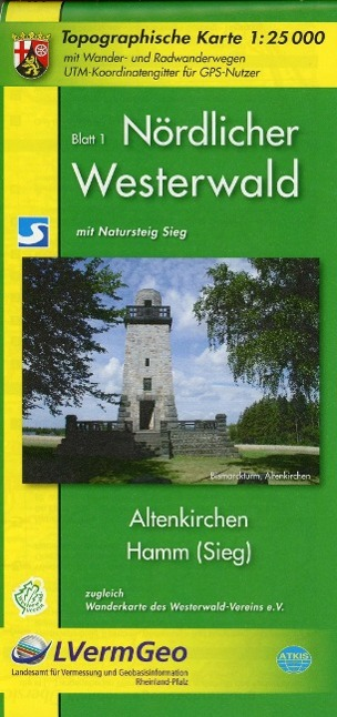 Nördlicher Westerwald Kartenset 1 : 25.000 als Buch von