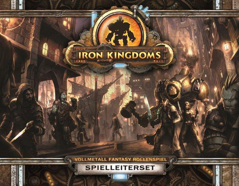 Iron Kingdoms Spielleiterset als Buch von Douglas Seacat