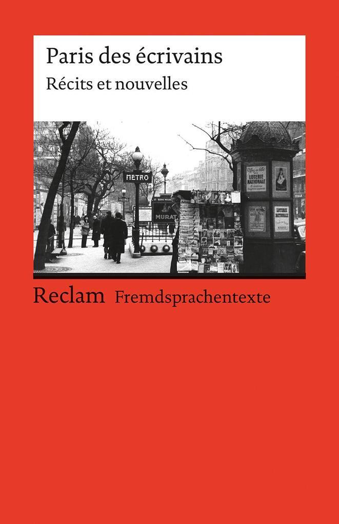 Paris des ecrivains als Taschenbuch von