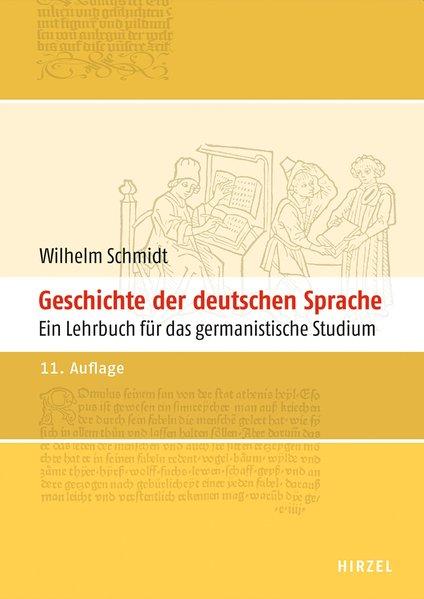Geschichte der deutschen Sprache als Buch von