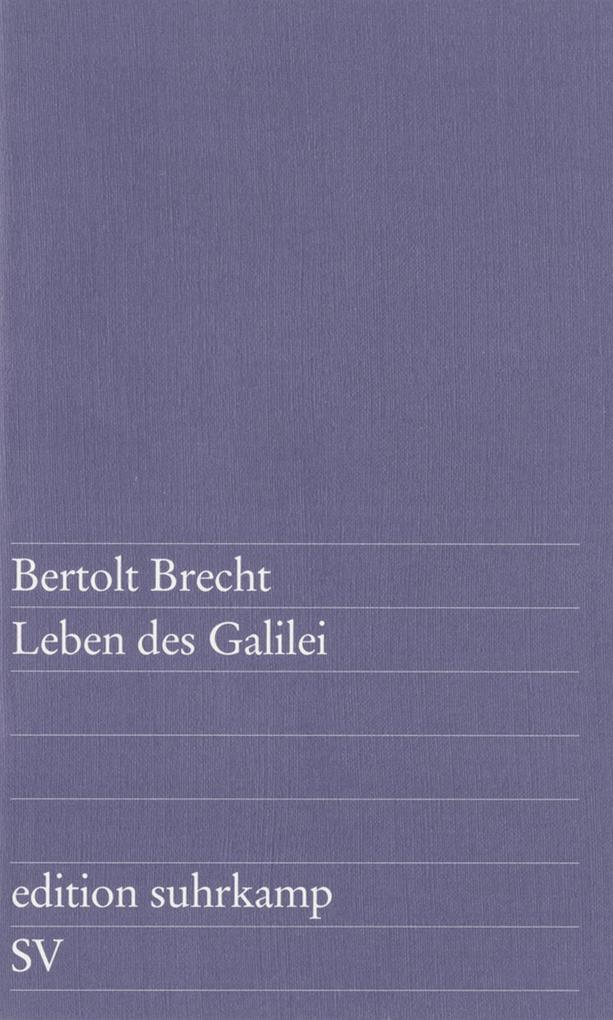 Leben des Galilei als eBook von Bertolt Brecht