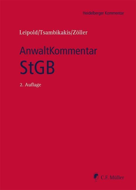 Heidelberger Kommentar AnwaltKommentar StGB als Buch von