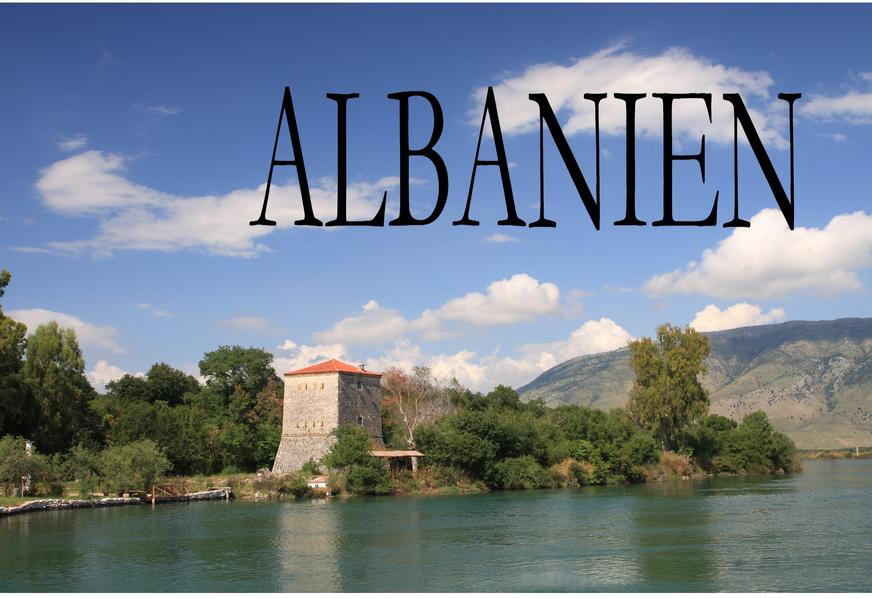 Albanien - Ein Bildband als Buch von