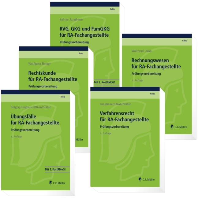 ReNo Prüfungsvorbereitung. 5 Bände als Buch von Wolfgang Boiger, Sabine Jungbauer, Waltraud Okon, Claudia Stähle