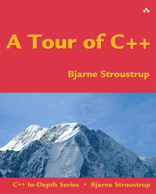 A Tour of C++ als Buch von Bjarne Stroustrup