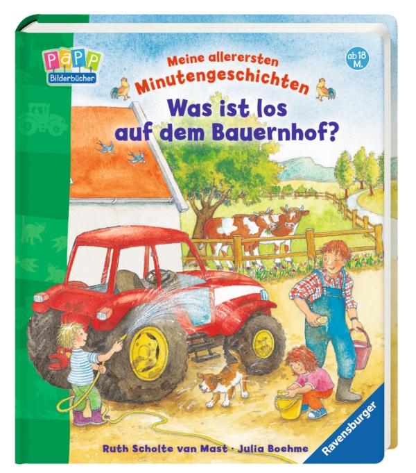 Was ist los auf dem Bauernhof? als Buch von Julia Boehme