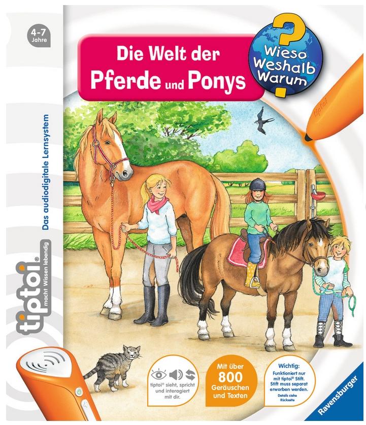 tiptoi® Die Welt der Pferde und Ponys als Buch von Inka Friese