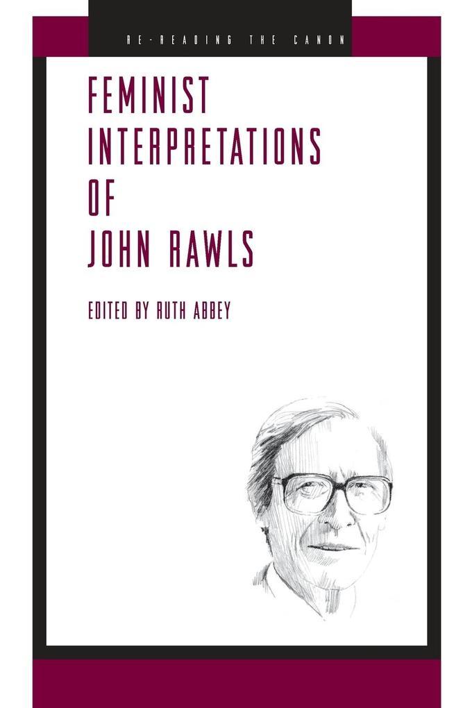 Feminist Interpretations of John Rawls als Taschenbuch von