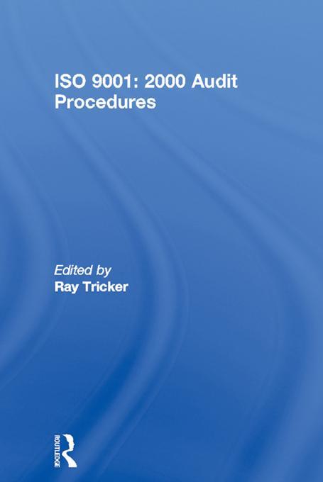 ISO 9001: 2000 Audit Procedures als eBook von
