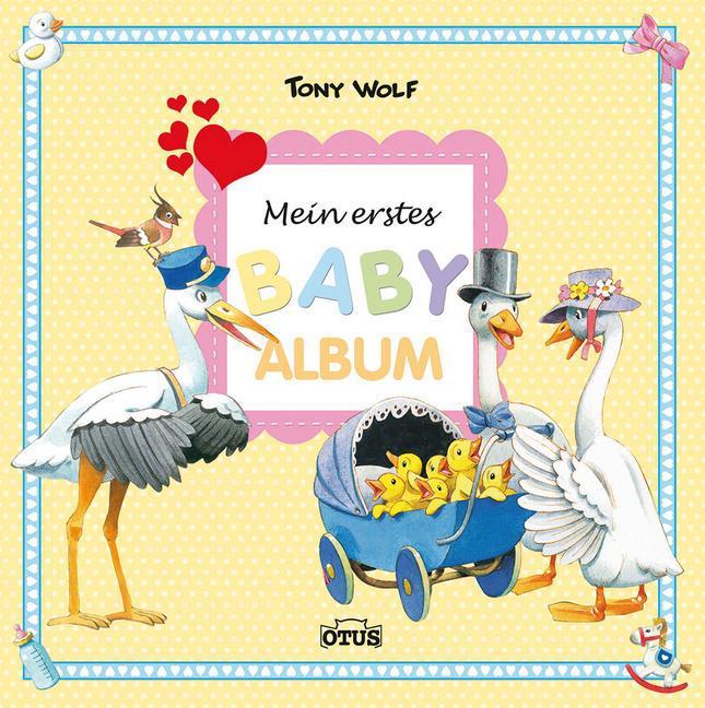 Mein erstes Babyalbum als Buch von