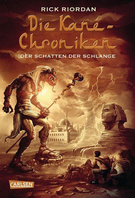 Die Kane-Chroniken 03: Der Schatten der Schlange als Buch von Rick Riordan