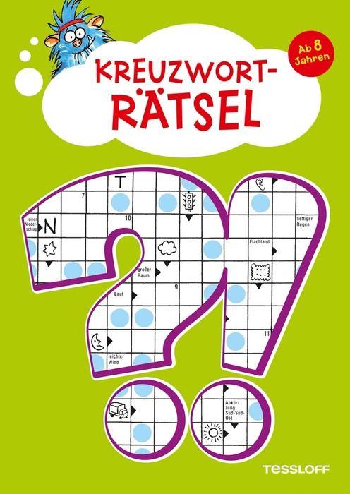 Kreuzworträtsel. Ab 8 Jahren als Buch von Inge Gürtzig