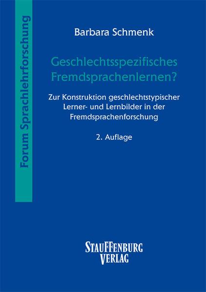 Geschlechtsspezifisches Fremdsprachenlernen? als Buch von Barbara Schmenk