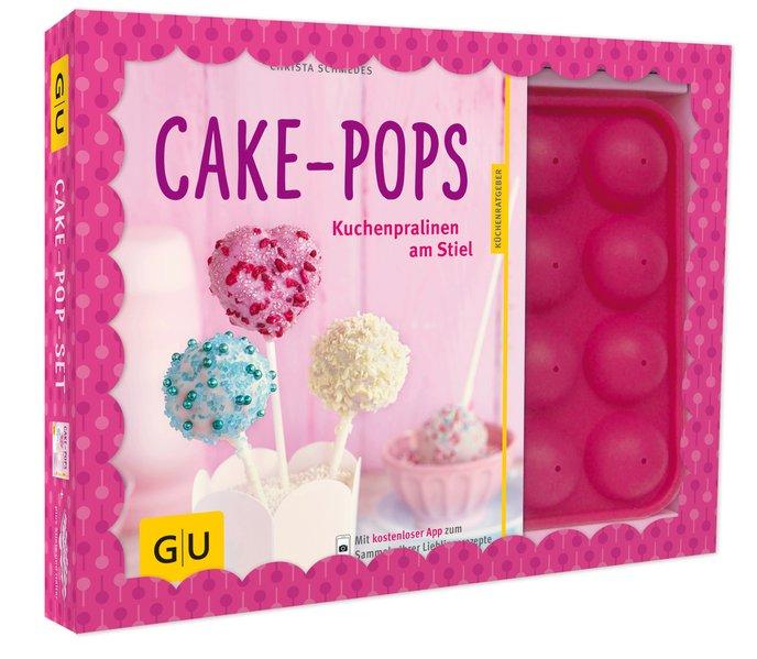 Cake-Pop-Set als Buch von Christa Schmedes