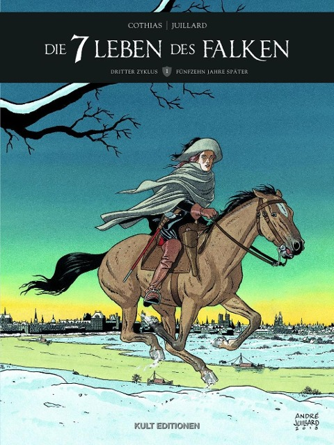 7 Leben des Falken - 3. Zyklus, Band 1 als Buch von Cothias, Juillard