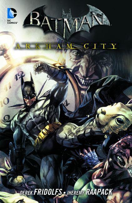 Batman: Arkham City 04 als Taschenbuch von Derek Fridolfs