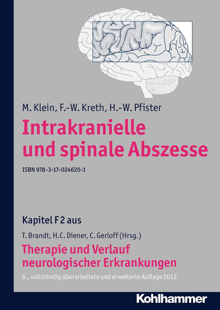 Intrakranielle und spinale Abszesse als eBook von M. Klein, F. -W. Kreth, H. -W. Pfister