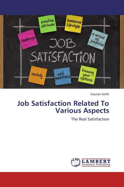 Job Satisfaction Related To Various Aspects als...