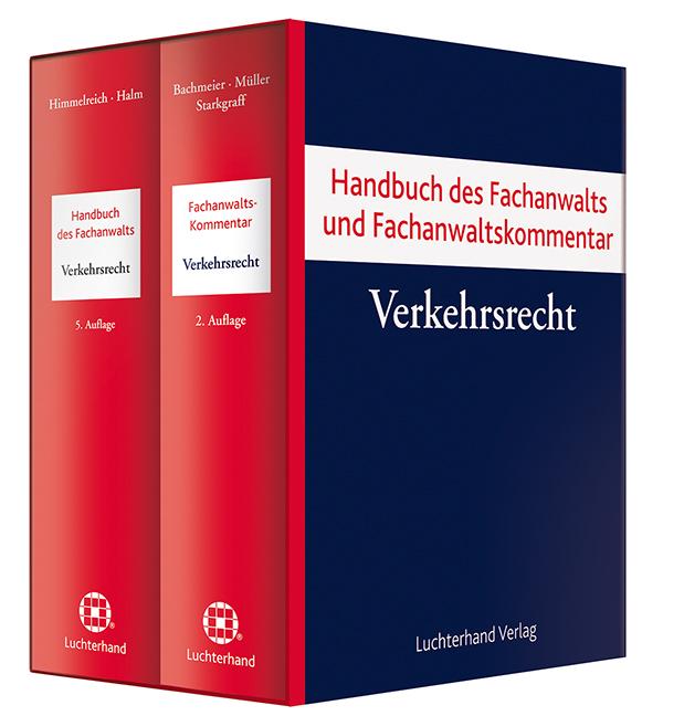 Bundle Verkehrsrecht. 2 Bände als Buch von