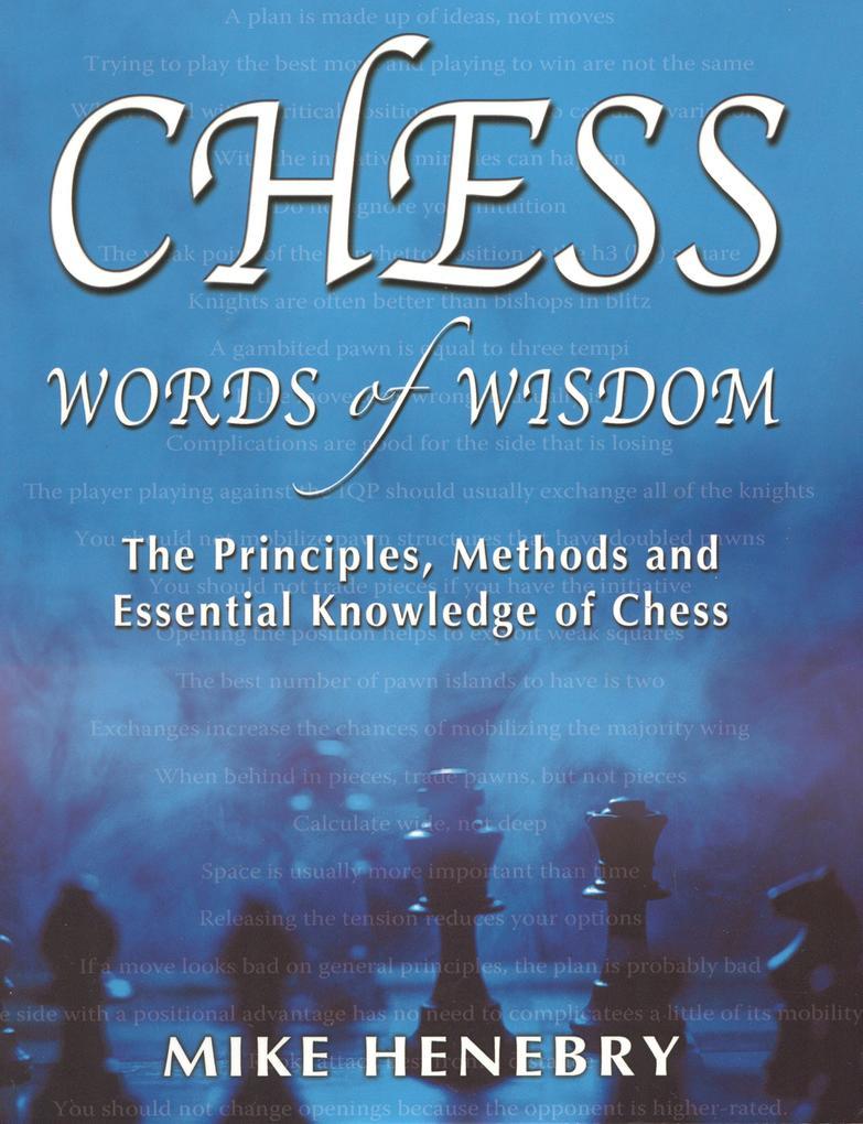 Chess Words of Wisdom als eBook von Mike Henebry