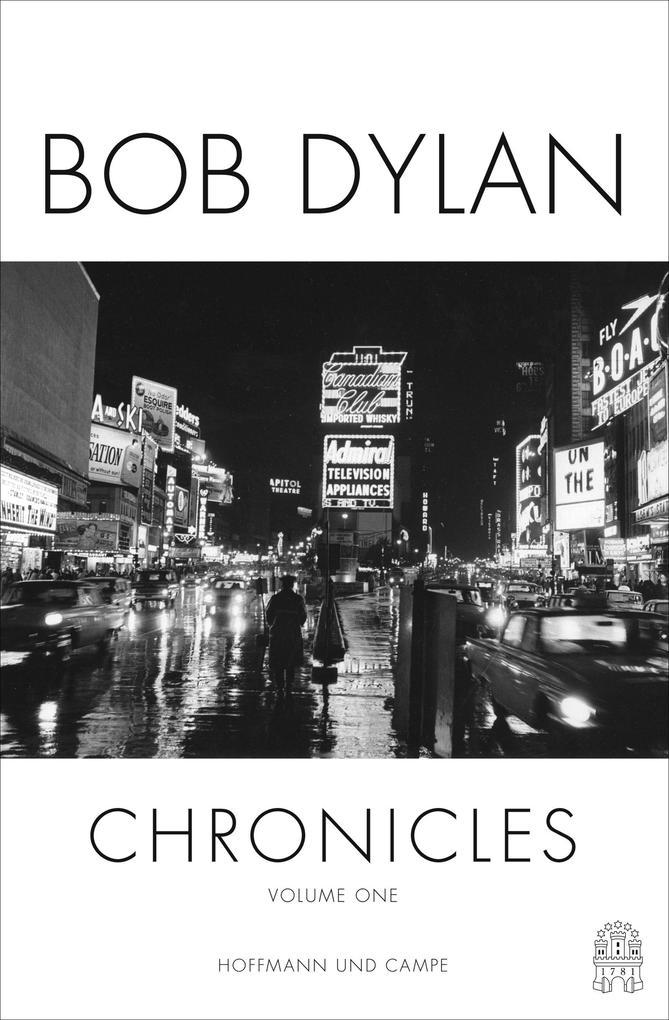 Chronicles als Buch von Bob Dylan