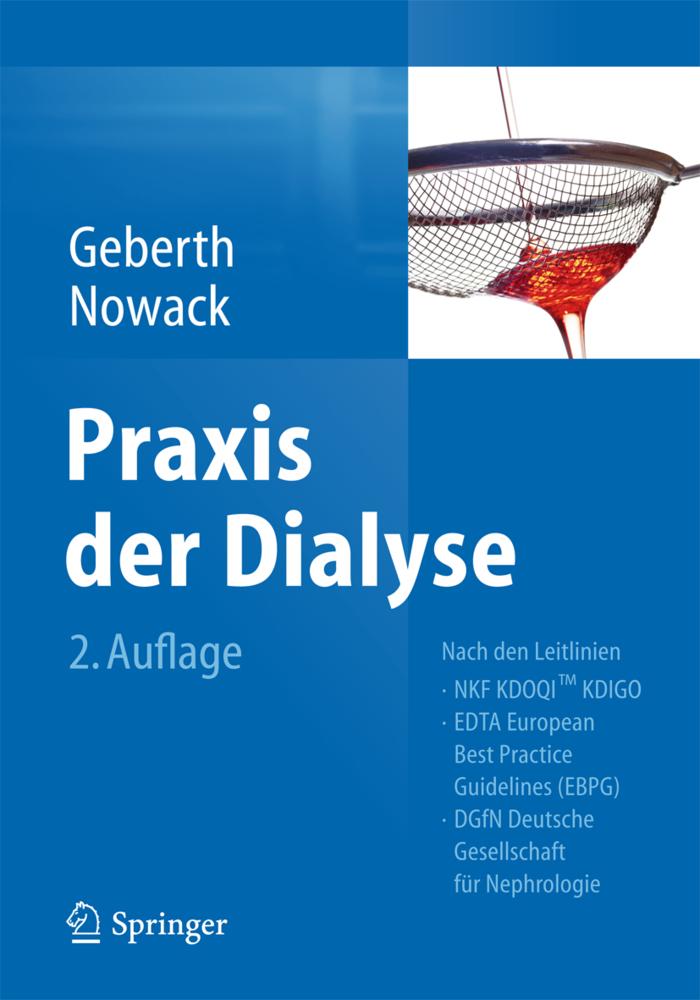 Praxis der Dialyse als Buch von Steffen Geberth, Rainer Nowack