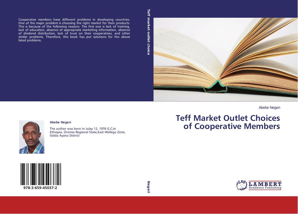 Teff Market Outlet Choices of Cooperative Members als Buch von Abebe Negeri
