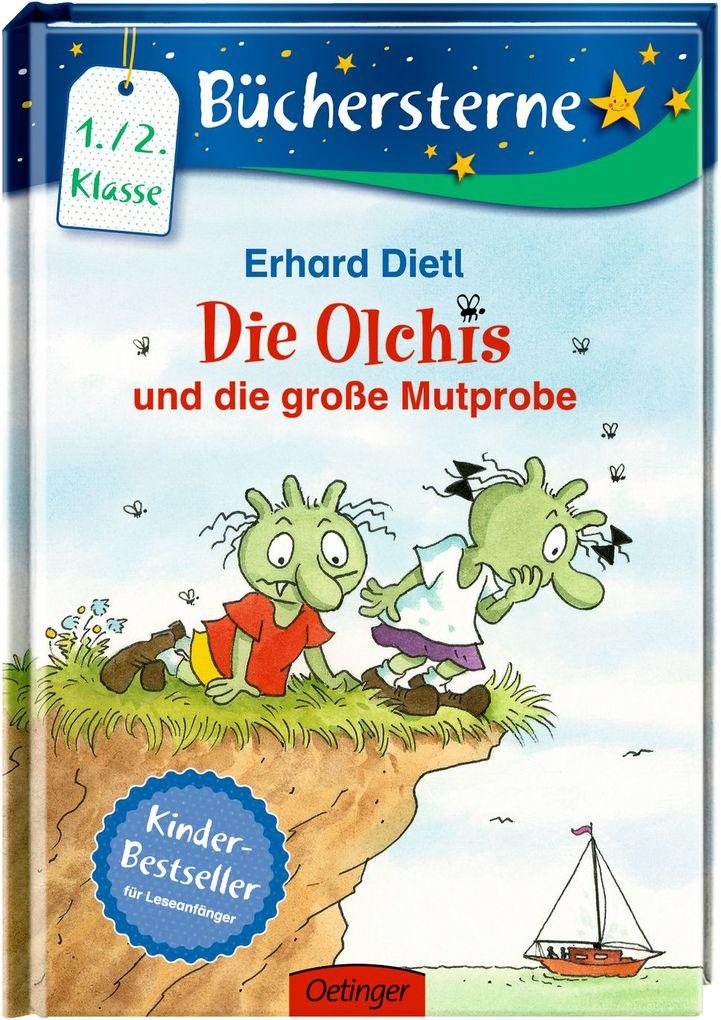 Die Olchis und die große Mutprobe als Buch von Erhard Dietl
