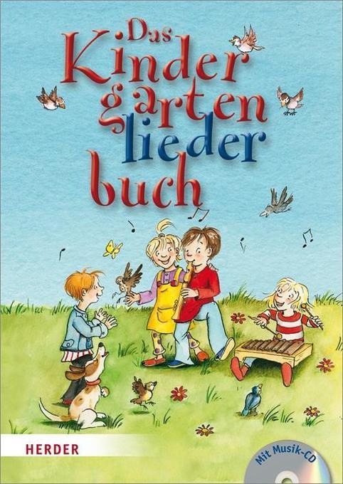 Das Kindergartenliederbuch als Buch von