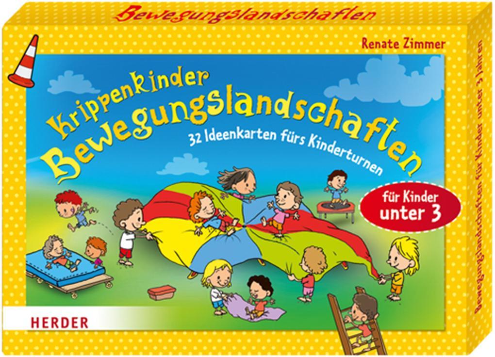 Krippenkinder - Bewegungslandschaften als Buch von Renate Zimmer