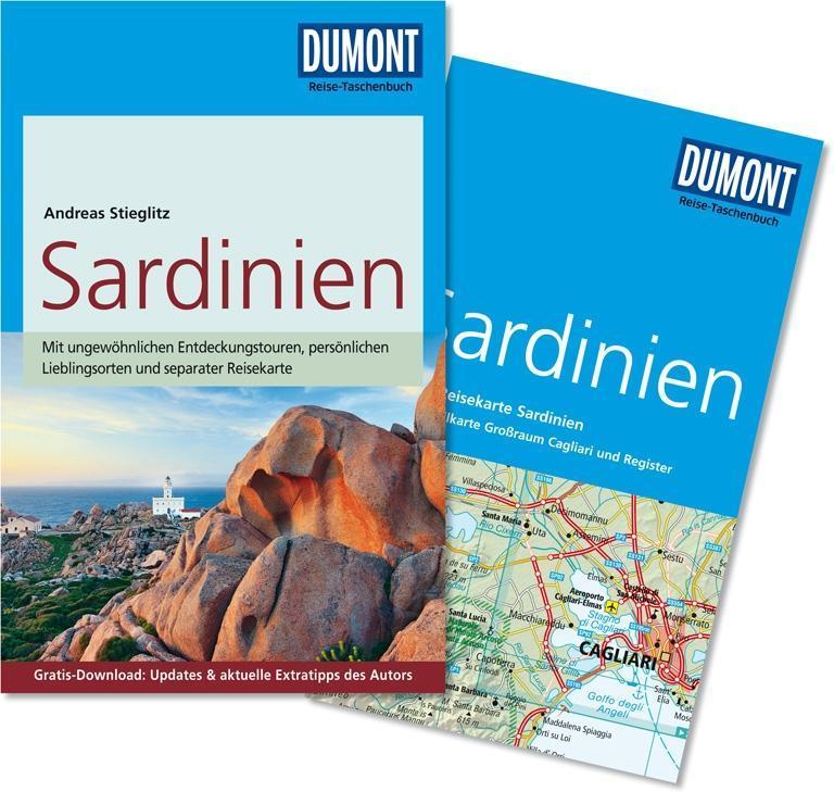 DuMont Reise-Taschenbuch Reiseführer Sardinien als Taschenbuch von Andreas Stieglitz