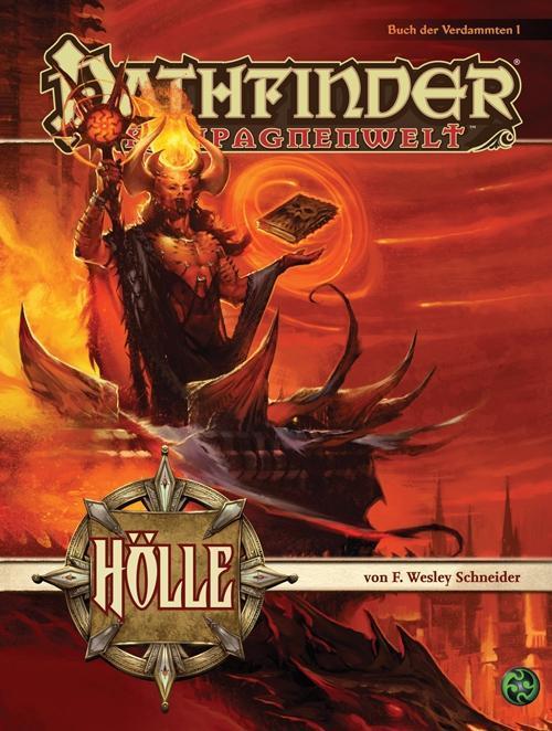 Das Buch der Verdammten 1: Hölle als Buch von F. Wesley Schneider