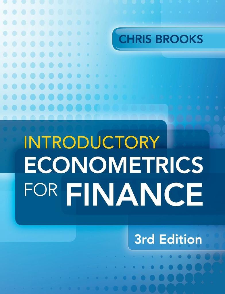 Introductory Econometrics for Finance als Buch von Chris Brooks