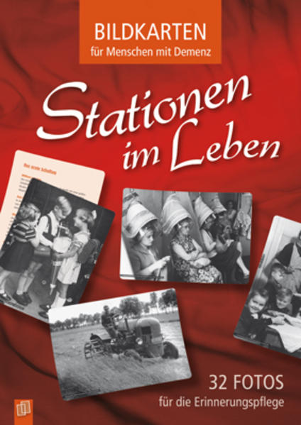 Bildkarten für Menschen mit Demenz: Stationen im Leben als Buch von