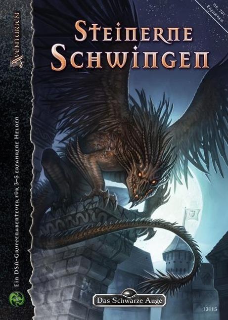 Steinerne Schwingen als Buch von Dominic Hladek, Nadine Schäkel