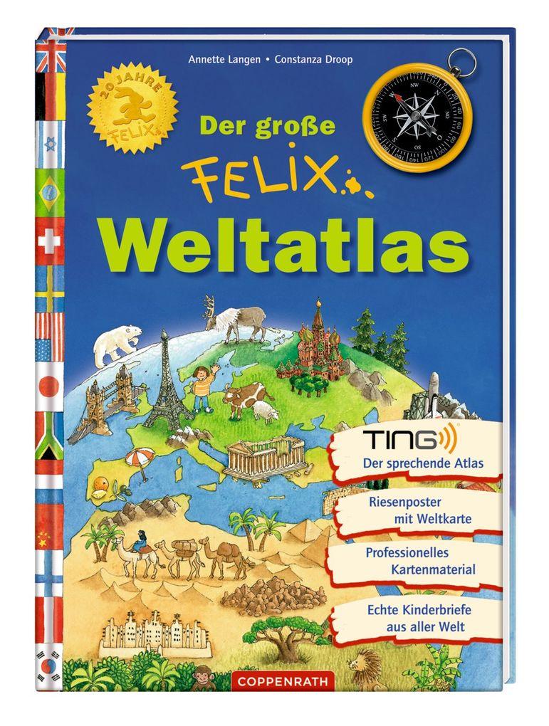 Der große Felix-Weltatlas als Buch von Annette Langen