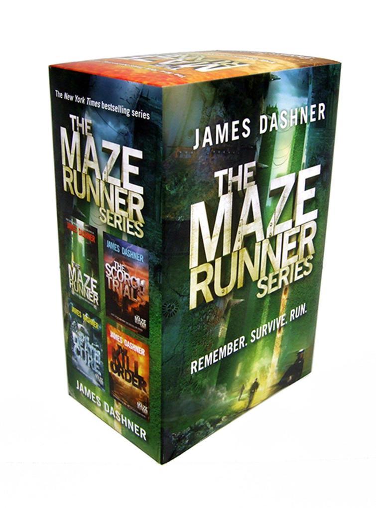 The Maze Runner Series Boxed Set als Taschenbuch von James Dashner