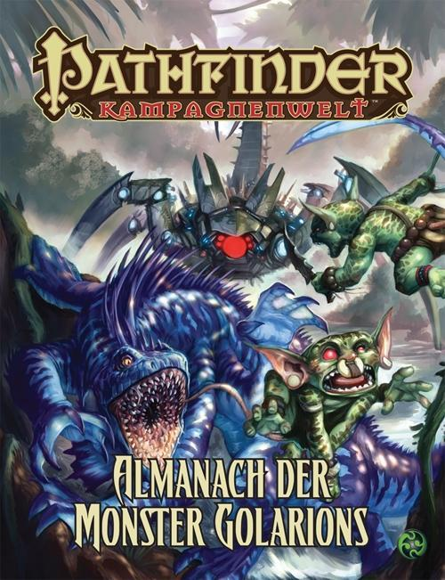 Almanach der Monster Golarions als Buch von
