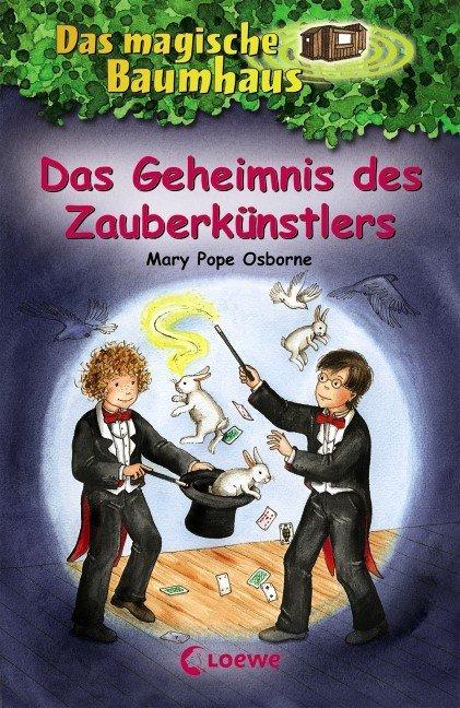 Das magische Baumhaus Bd. 48 - Das Geheimnis des Zauberkünstlers als Buch von Mary Pope Osborne